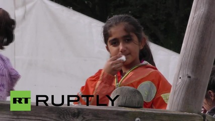 Germany: Nuremberg refugee camp faces 'daily supply problems'