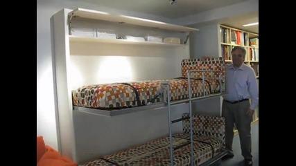 Компактна италианска мебел, предлагаща различни решения за дома!
