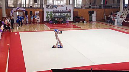 Михайлова-Митрева - двойка жени, спортна акробатика