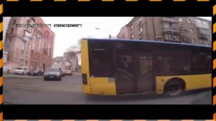 Компилация от автомобилни катастрофи №2