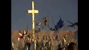 Слънцето над Ерусалим - Алиса, Костя Кинчев с кадри от филма Небесно Царство