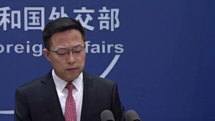 China: Australia's nuclear submarine strategy 'irresponsible', says FM spox