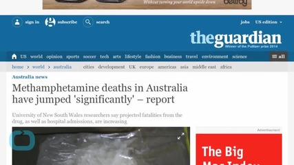 Australian Drug Problem Grows With Ice