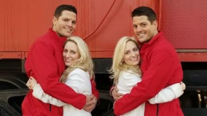 Сватба на квадрат: Близнаци се взеха с близначки, нямат търпение за деца
