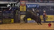 J.b. Mauney rides Chicken on a Chain for 90 points