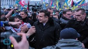 With Currency Tumbling, Georgians March Against Government