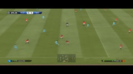 Pes 2015 - Шампионска лига: Манчестър Юнайтед - Наполи