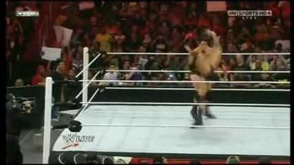 На един ринг със Ренди Ортън - означава,че никой не е в безопасност!