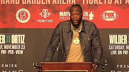 USA: Wilder-Ortiz talk the talk pre-title fight rematch