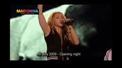 Madonna и най - добрия имитатор на Майкъл Джексън - Отдават чест на Джако