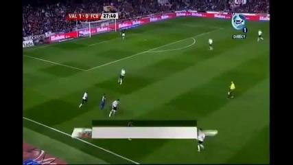 Валенсия - Барселона 1 - 1 01.02.2012