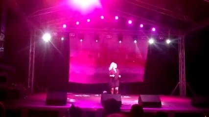 Концерта на Десислава на панира в град Видин - част -8