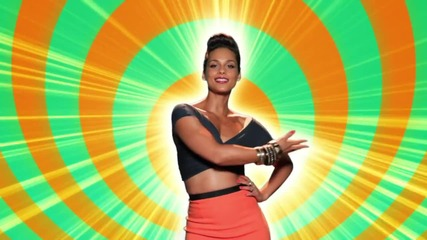 Alicia Keys - Girl On Fire ( Официално Видео )