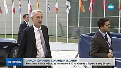 Заев заминава за Брюксел в последен опит да издейства дата за начало на преговори с ЕС