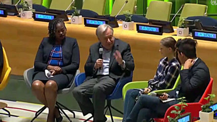 UN: Thunberg and Sec-Gen Guterres speak at Youth Climate Summit