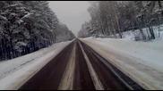 русия зимата с камион2 20111
