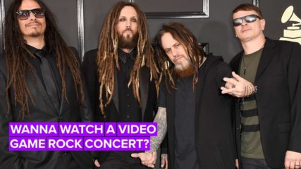 Korn's next concert is inside a video game