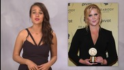 "Tina Fey and Amy Schumer a ""Madonna"" Like Kiss"
