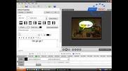 Как Да Направите Реплика Като В Комикс - Урок С Camtasia Studio 5