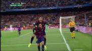 Барселона 2 - 0 Псж ( шампионска лига ) ( 21/04/2015 )