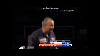 Phil Taylor- Почти 3x 9 Dart Finishes!