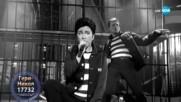 "Гери-Никол като Elvis Presley - ""Jailhouse Rock"" | Като две капки вода"