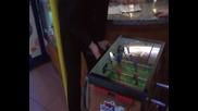 Геша и Марто Стефанов играя на джаги в Арената xd