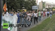 Macedonia: Thousands march on library where May 5 students were arrested