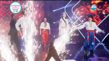 Иван Звездев и Камен Воденичаров - Украински танци - И аз го мога (27.05.2015)