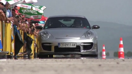 Бижу Моторспорт 2013 - Драг и Дрифт - Порше, Ариел Атом, Нисан