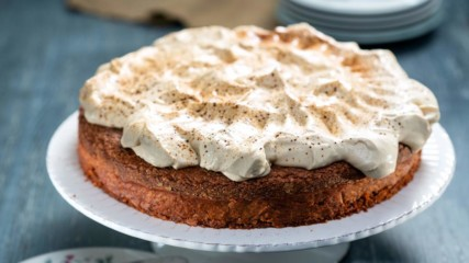 Бон Апети | Шоколадов кейк с шапка от маскарпоне