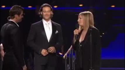 Il Divo and Barbara Streisand - Evergreen