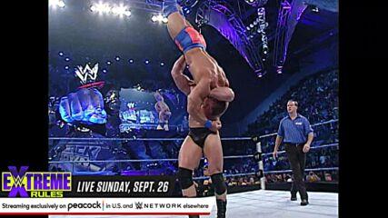 John Cena vs. Brock Lesnar: SmackDown, Sept. 19, 2002 (Full Match)