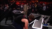 Roman Reigns vs Dean Ambrose vs Brock Lesnar - Fastlane 2016 Highlights