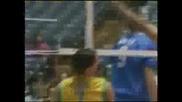 Волейбол - точка с глава на Giba