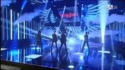 (hd) D-unit - Luv Me ( Comeback Stage ) ~ M Countdown (08.11.2012)