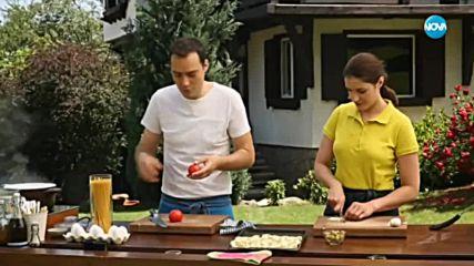 Спагети със сос от домати и патладжани - Бон Апети (02.08.2018)