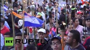 Honduras: Torch-lit march held against US interference
