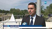 НА ГРАНИЦАТА: Вдигнаха българския трибагреник на 25-метров пилон