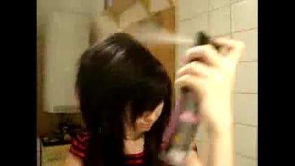Mnogo qko Scene hair