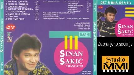 Sinan Sakic i Juzni Vetar - Zabranjeno secanje (audio 1998)