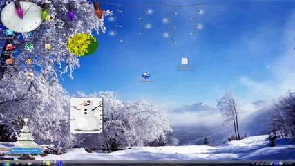Коледна Украса за Вашият Комп
