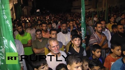 State of Palestine: Hamas rally in solidarity with Al Aqsa Mosque worshippers