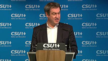 Germany: Soder says 'these are not easy days' as discussions over chancellor candidate continue
