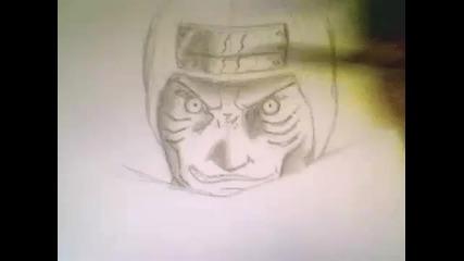 Как да нарисуваме Кисаме