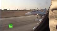 Руските самолети засипаха с бомби и ракети терористите в Сирия