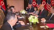 Singapore: Trump and Kim begin talks at US-North Korea summit