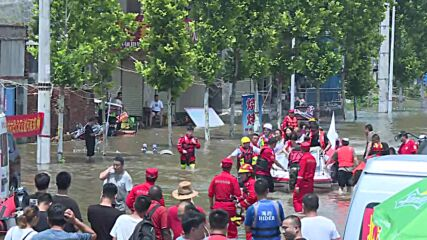 China: Thousands rescued in devastating Henan floods