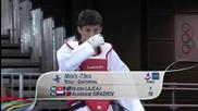 Младежки олимпийски игри 2010 - Таеклондо Мъже до 73 кг четвъртфинали
