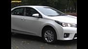 Toyota Corolla - тест драйв